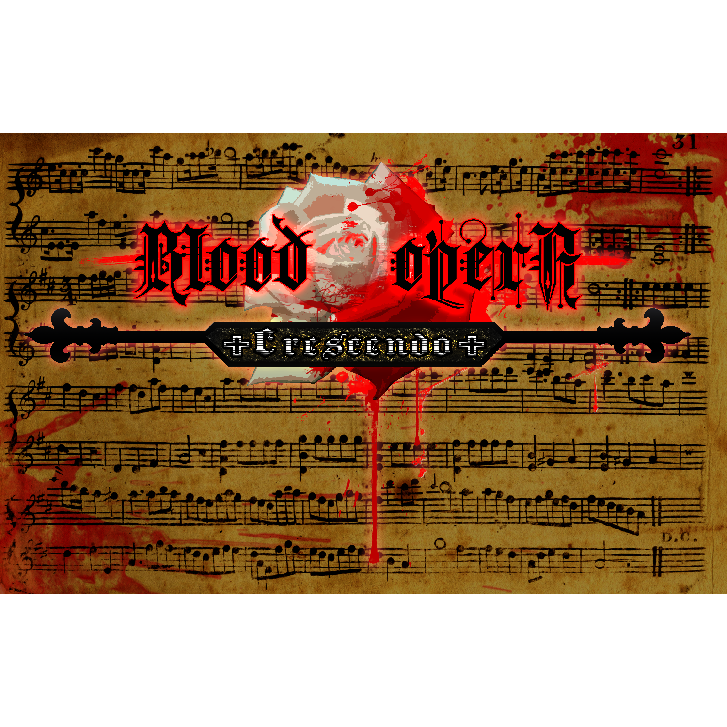 Blood Opera Crescendo logo